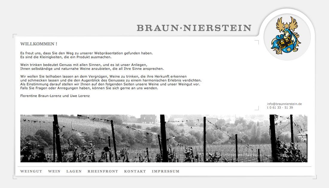 Website Weingut