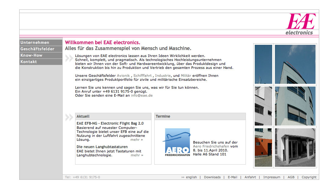 Website Avionics