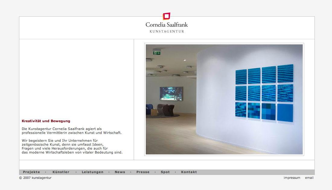 Website Kunstagentur