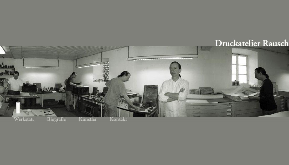Website Druckatelier