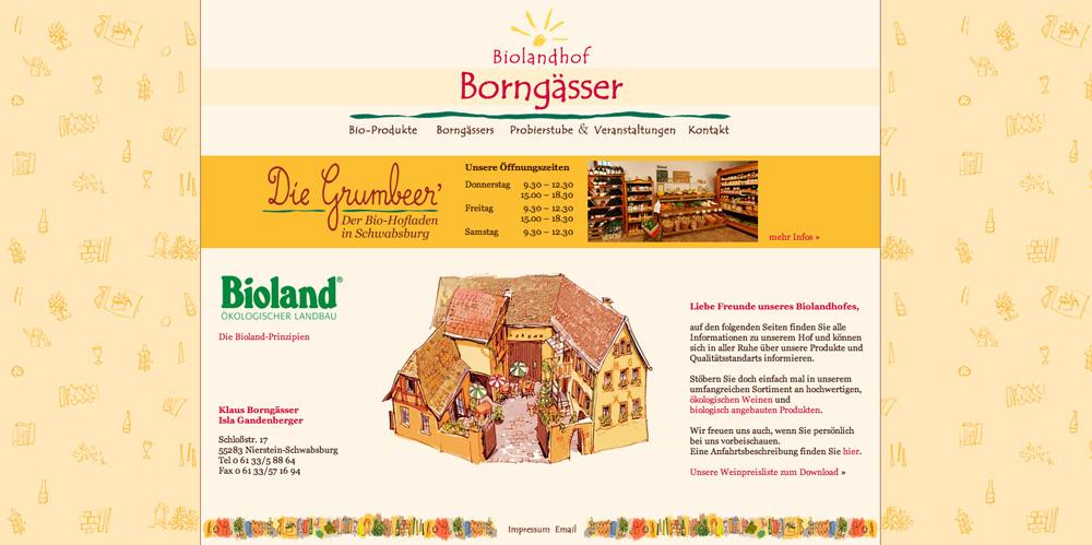Website Biohof