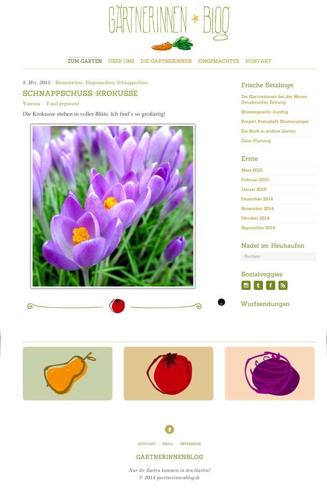 Illustration Gestaltung Blog