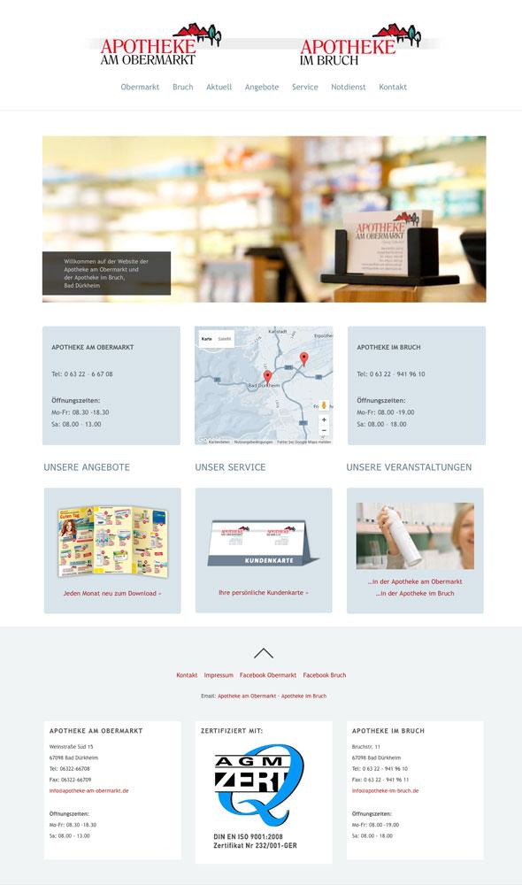 Website Apotheke